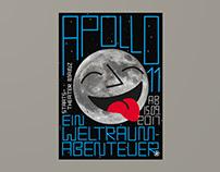 Staatstheater Mainz – Apollo 11 (Poster)