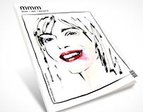 mmm... magazine | Cover illustration & layout