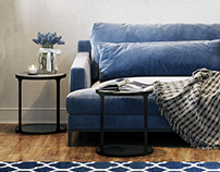 Inspiration Living room Blue