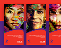 HSBC INTERNATIONAL WOMEN'S DAY BRANDING