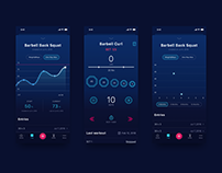 Stacked Fitness App Redesign
