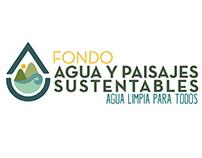Logotipo: Fondo Agua y Paisajes Sustentabes A.C.