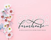 Strong Farmhouse Script_Font