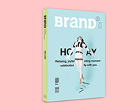 "BranD MAGAZINE issue 21 ""HER-LIDAY"""