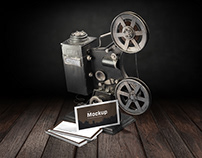 Mockup Business Cards for Filmmakers