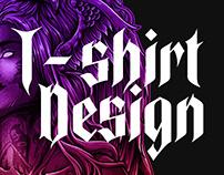 Dark Fly - T-shirt Design