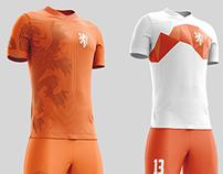Redesign Dutch soccer tenue
