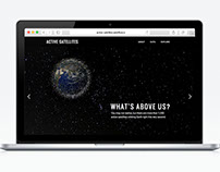 Active Satellites: website & interactive database