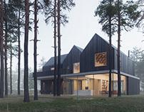A family house near Warsaw