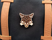 Wooden Brooches (Jon Brommet x WafWaf)