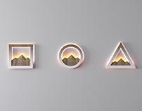 Rock bra lamps by Inshovid