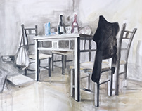 .Interior With Chairs.