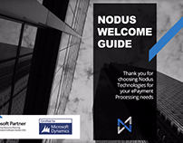 Nodus Welcome Booklet Design & Content