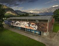 """Ophelia"". Grenoble, France"