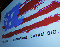 American Free Enterprise logotype (2009-2014)