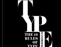 The 40 Rules of Type