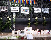 Hommage aux victimes de l'attentat d'Orlando