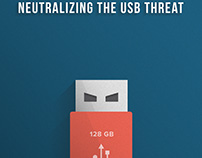 Ebook Cover: Neutralizing The USB Threat