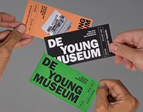 De Young Museum | Visual Identity (fictional)