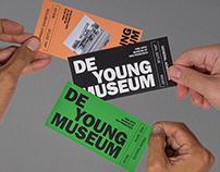 De Young Museum | Visual Identity (fictional)