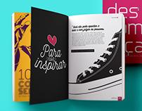 Projeto gráfico - Livro Descomplica (Volume 1)