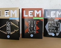 Book Covers - Stanislaw Lem, Editorial Design