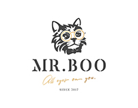 Mr. Boo: Logo, Website