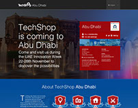 TechShop Abu Dhabi - Drupal, design, custom CRM/CMS