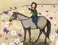 Book Illustrations: Kri Kri's Adventures