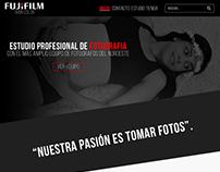 Fujifilm Web Design