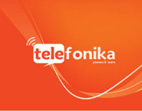 Telefonika Mobile App + Website Redesign