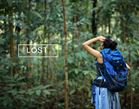 Lost - A photo Series of a Lone Woman Traveler