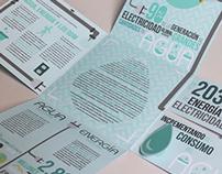 Water & Energy - Folding brochure