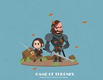 《Game of Thrones》人物插画系列(二)