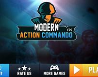 modern action commando