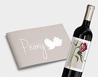 Feminine & Natural Logo and Branding for Wine Shop
