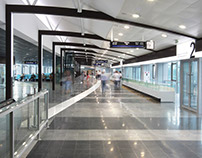 Donetsk concourse interior
