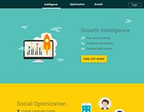 Growth website UI design proposal