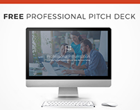FREE PROFESSIONAL PITCH DECK PPT TEMPLATE