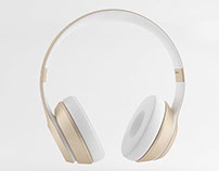 Headphones Photoreal 3D CGI Product Animation Rendering