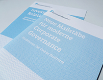 Corporate and Editorial Design for Aktionaersforum AG