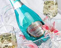 Amazing Oreanda bottles printed by DanCo Decor.