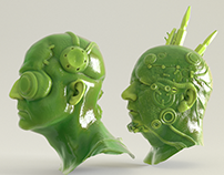 Modelling - Sculpting - Rendering