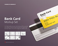 Bank Card / Membership Card Mockup