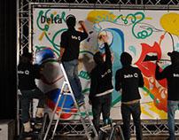 ÚniQa Collective mural