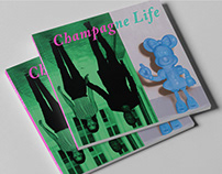 Saatchi Gallery - Champagne Life Exhibition Identity