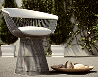 Garden chair 3D