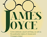 James Joyce Birthday Party - Hamilton ENCRW
