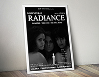 RADIANCE poster (BDU Theatre, Vienna)