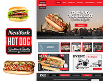 New York Hot Dog - strona internetowa